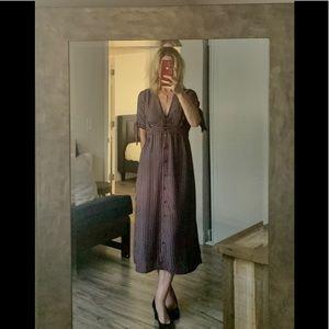 Urban outfitters midi dress medium